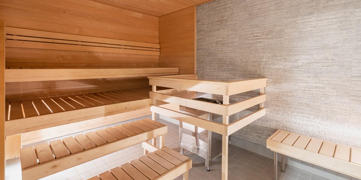 Anttilankadun senioritalon sauna