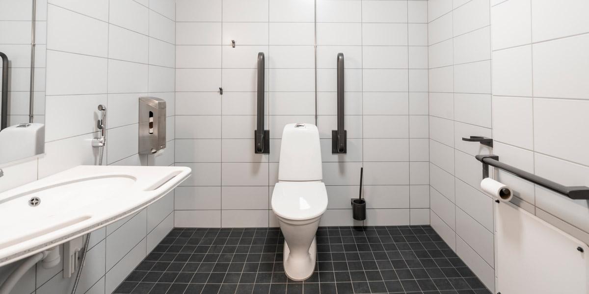 Korkeakadun senioritalon wc-tila