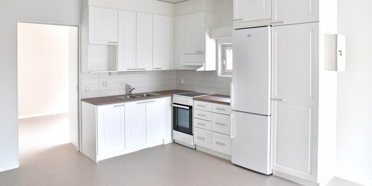 Laaksokatu 21 asunnon keittiö