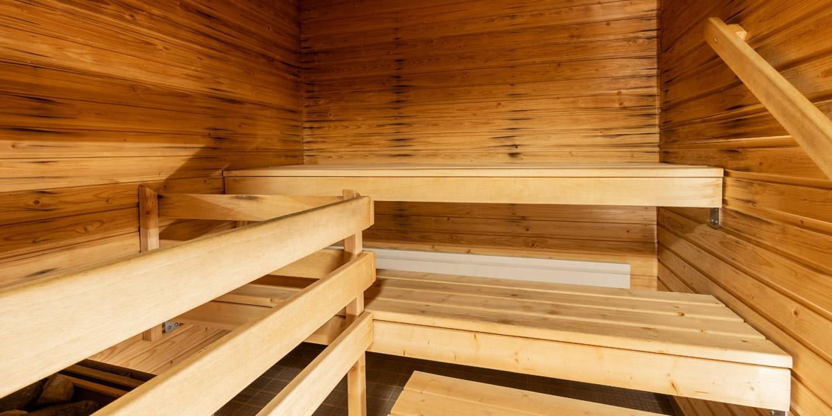 Lautamiehenkadun senioritalon sauna