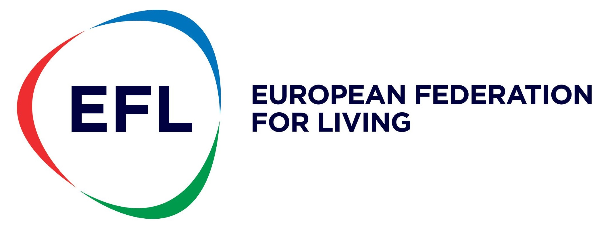 European Federation for Living logo