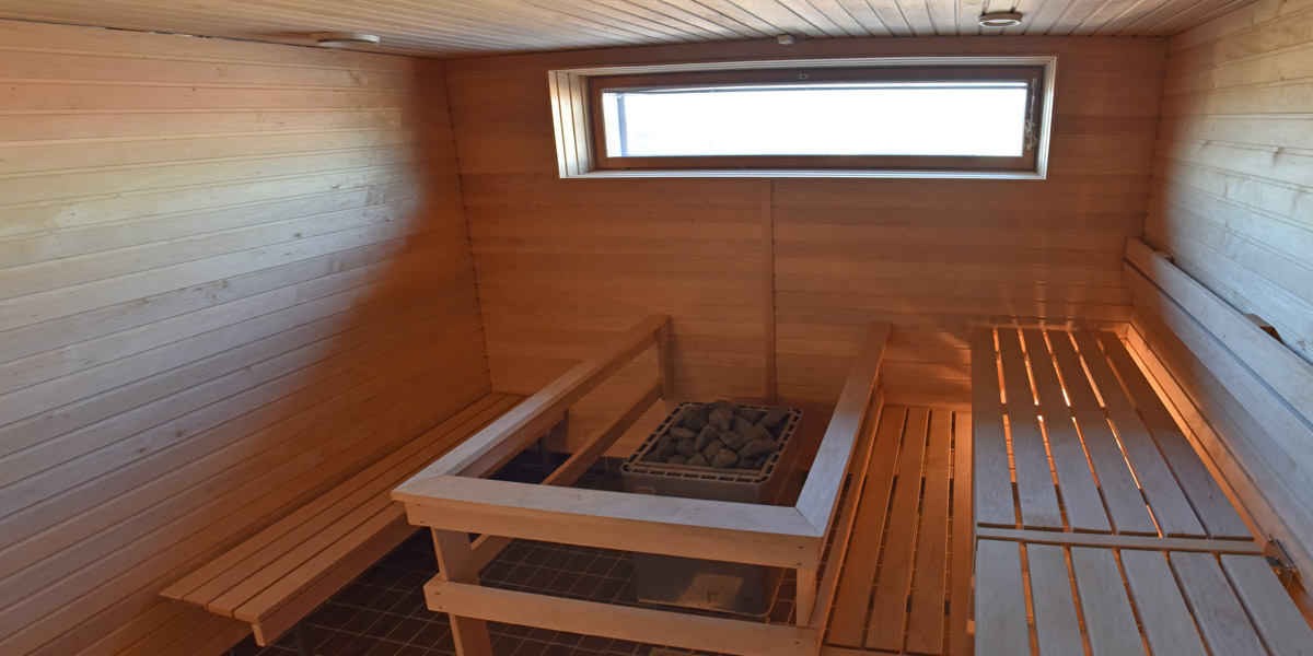 Laaksokatu 19 sauna.