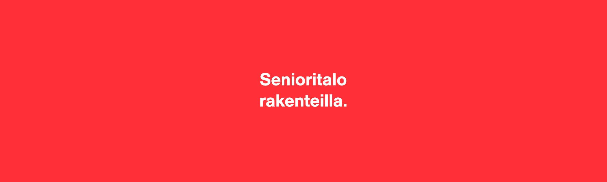 Ranta-Kartanon senioritalo on rakenteilla.